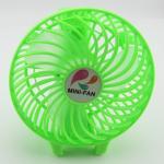 พัดลมพับได้ MINI FAN No.868 - สีเขียว