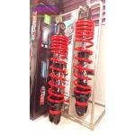(PCX) โช้คอัพหลังคู่ YSS รุ่น DTG(ไฮบริด)สำหรับ Honda PCX,Nouvo อิลิแกนซ์ สี ดำ/แดง