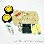 2WD Arduino Smart Car Chassis (Black)