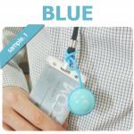 รีโมทถ่ายรูปไร้สาย ลูกบอล Smart Ball Bluetooth remote Shutter สีฟ้า