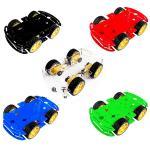 4WD Robot Smart Car Chassis - แบบ 2 ชั้น (มีให้เลือกหลายสี)