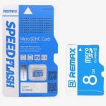 Memory Micro SD Card Remax 8GB Class6