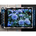 """2.2"""" 18-bit Color TFT LCD Display with MicroSD Card Breakout (Adafruit)"""