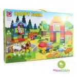 ตัวต่อเลโก้ Happy Farm 90 ชิ้น
