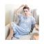 ชุดนอนกระโปรงคนท้องชายระบาย ประดับลูกไม้หน้าอก เปิดให้นมได้ - PJ0004 thumbnail 6