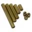 Pillar Nut M3 ชุดละ 10 ตัว (น็อตเสาค้ำทองเหลือง ทั้งแบบตัวผู้และตัวเมีย) thumbnail 2