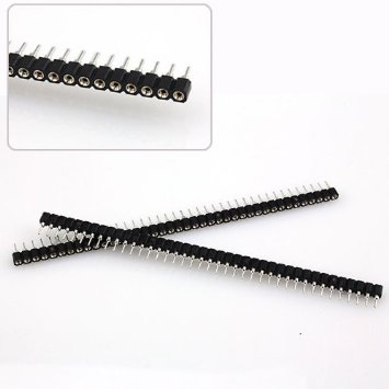 Female Hole Pin 1x40P Single Row