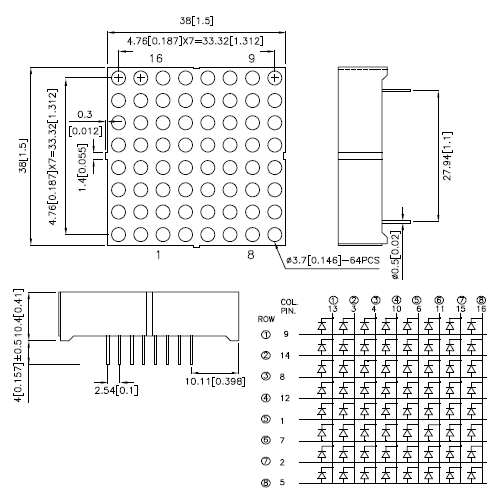 8x8 led matrix   driver