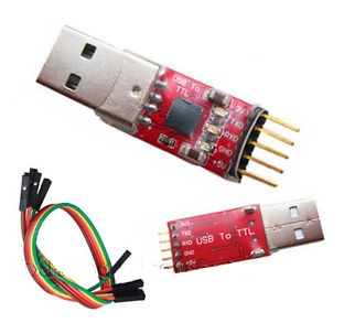 USB 2.0 to TTL (CP2102) UART 5-Pin Module Serial Converter + แถมสาย