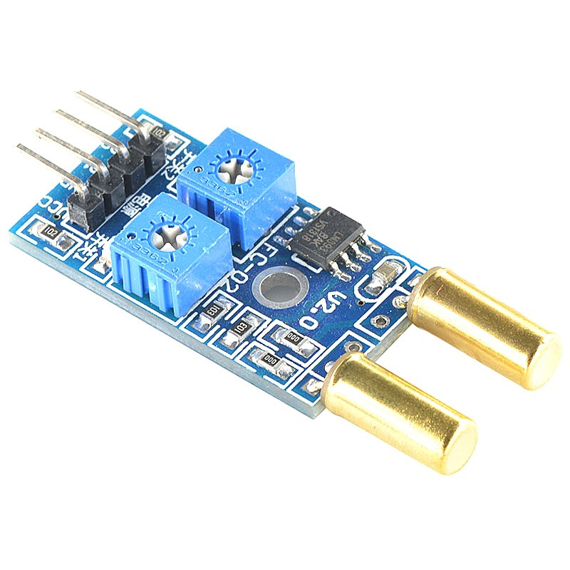 2-way Angle Tilt Dumping Sensor Module (XD-79A) เซ็นเซอร์วัดความเอียง/สั่น แบบ 2 ช่อง