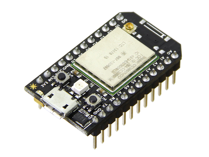 Spark Core (Arduino IDE compatible WiFi enabled board)