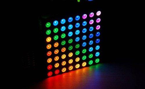 LED Dot Matrix 8x8 Full Color RGB ขนาด 60mm x 60mm (Common Anode)