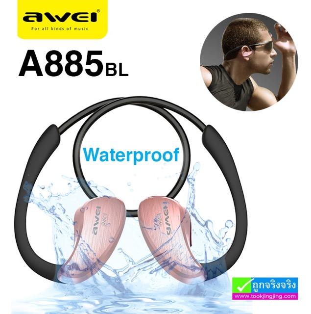 หูฟัง บลูทูธ AWEI A885BL