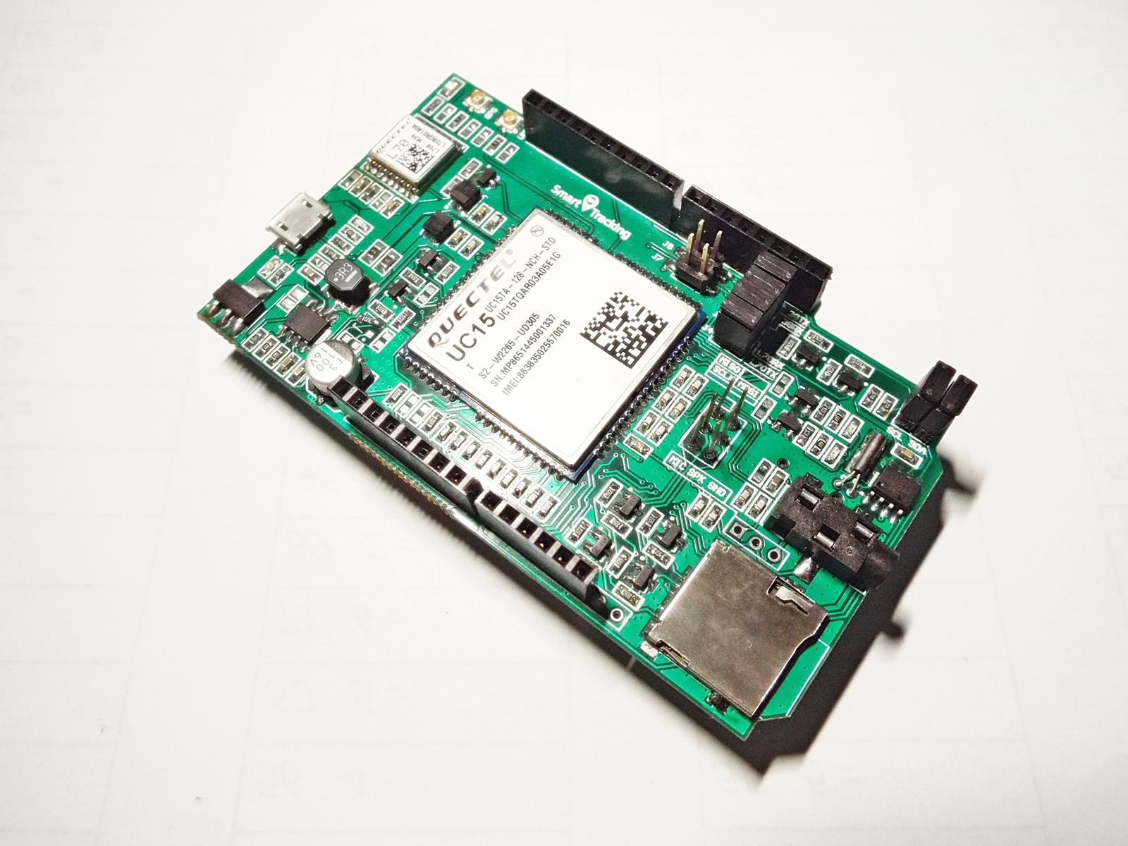 3G & GPS Shield (Arduino Uno และ Mega) + Free 3G/GPS Antennas (Quectel UC15-T)