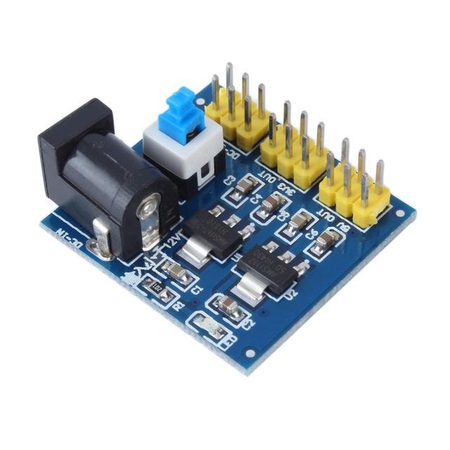 DC-DC Step Down Power Module Multi Output Voltage Conversion 12V to 3.3V / 5V / 12V