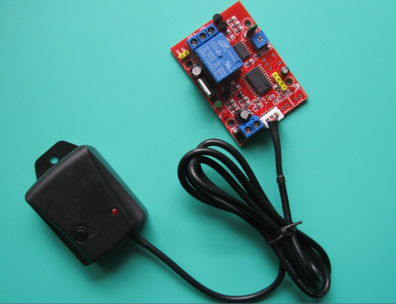 12V Ultra-High Sensitivity Vibration Sensor (Switch Vibration Sensor Relay Module)