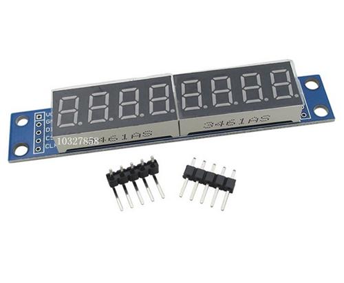 MAX7219 8-Digit 7 Segment Digital LED Display Module