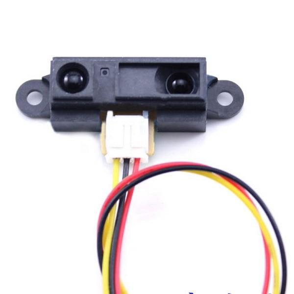 Sharp GP2Y0A21 Analog Infrared Distance Sensor (10 - 80cm) + แถมสายต่อ JST