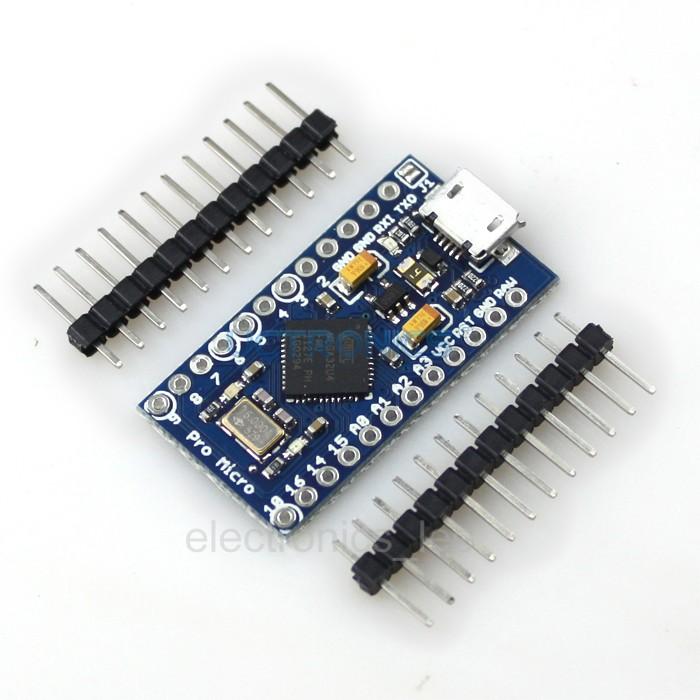 Arduino Pro Micro+ Free Pin Header