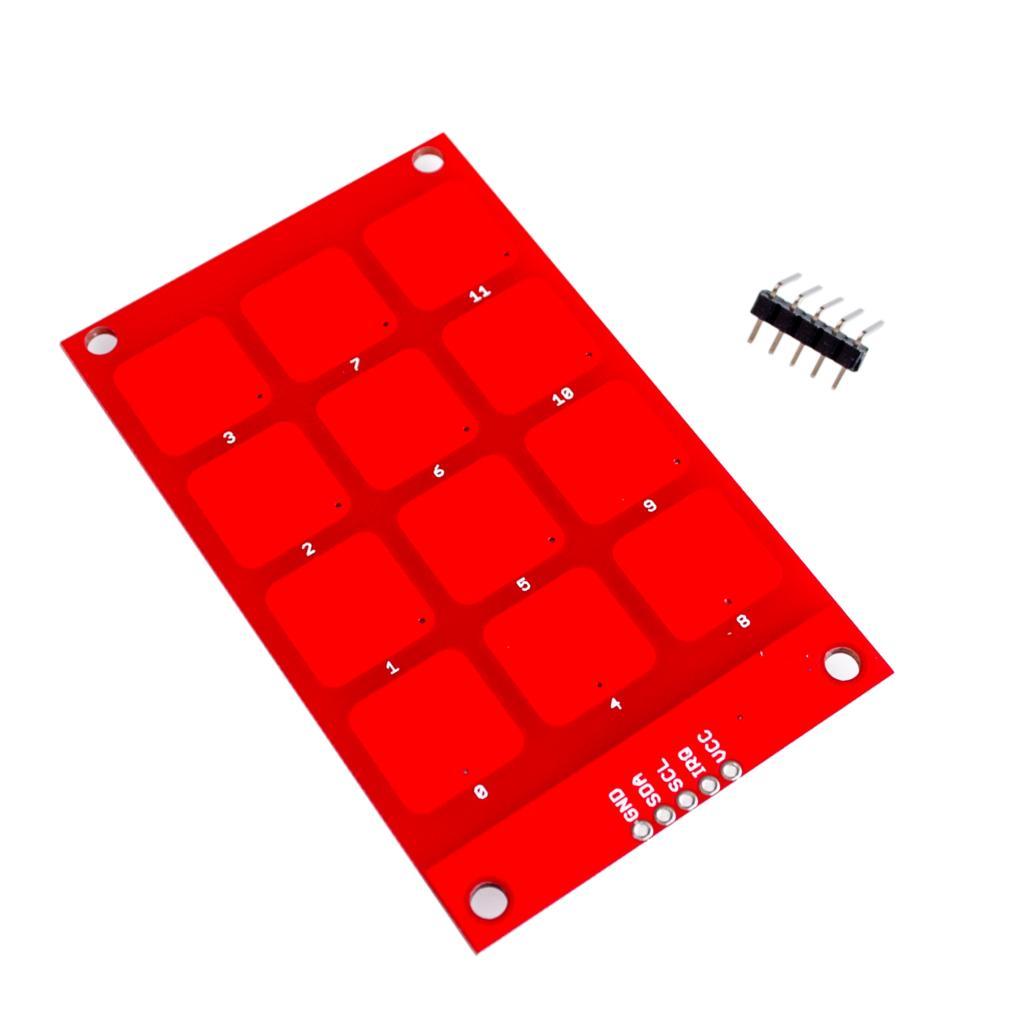 CJMCU-122 MPR121 Capacitive Keypad Touch Sensor Module