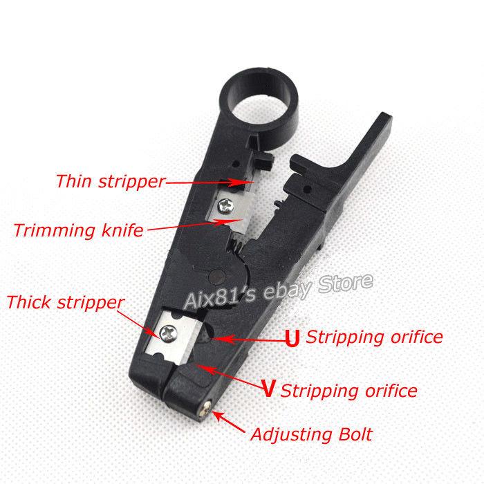 ที่ปอกสายไฟ MultiFunction Cable Stripper / Cutting Plier Cutter Tool WJ501 Stripper
