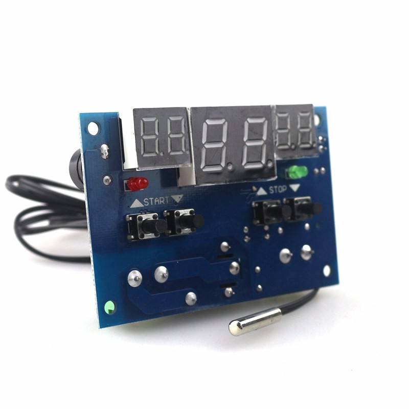 XH-W1401 Digital Temperature Controller with NTC Sensor (พร้อมแผงแสดงผลแบบ 7 Segment LED)