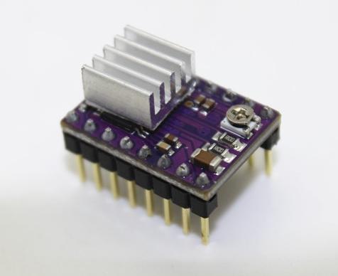 DRV8825 Stepper Motor Drive บอร์ดขับมอเตอร์ DRV8825 - PCB สีม่วง