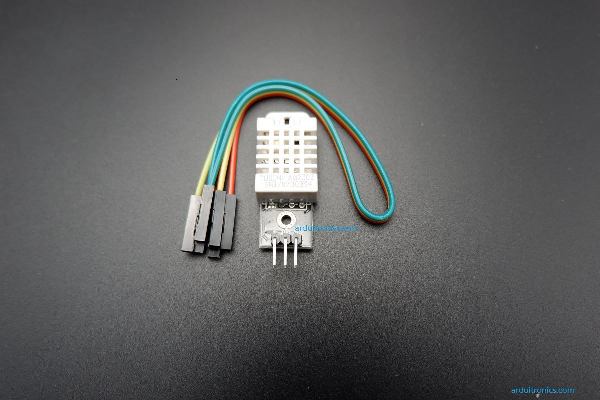 Module DHT22 (AM2302) : High Accuracy Digital Temperature and Humidity Sensor Module พร้อมสาย