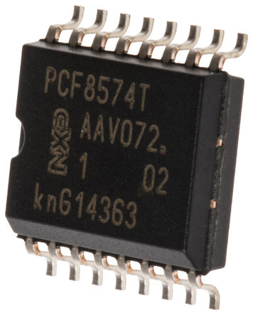 PCF8574T PCF8574 - NXP SOP16 Remote 8-bit I/O Expander for I²C‑bus with Interrupt