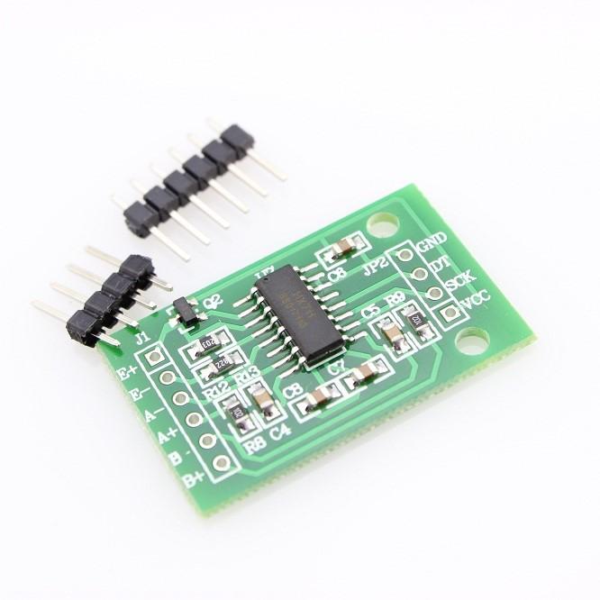 Weight Sensor Amplifier Module (HX711) + Free Pin Header