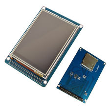 "3.2"" TFT LCD Display Module with Touch Panel + SD Card Socket"