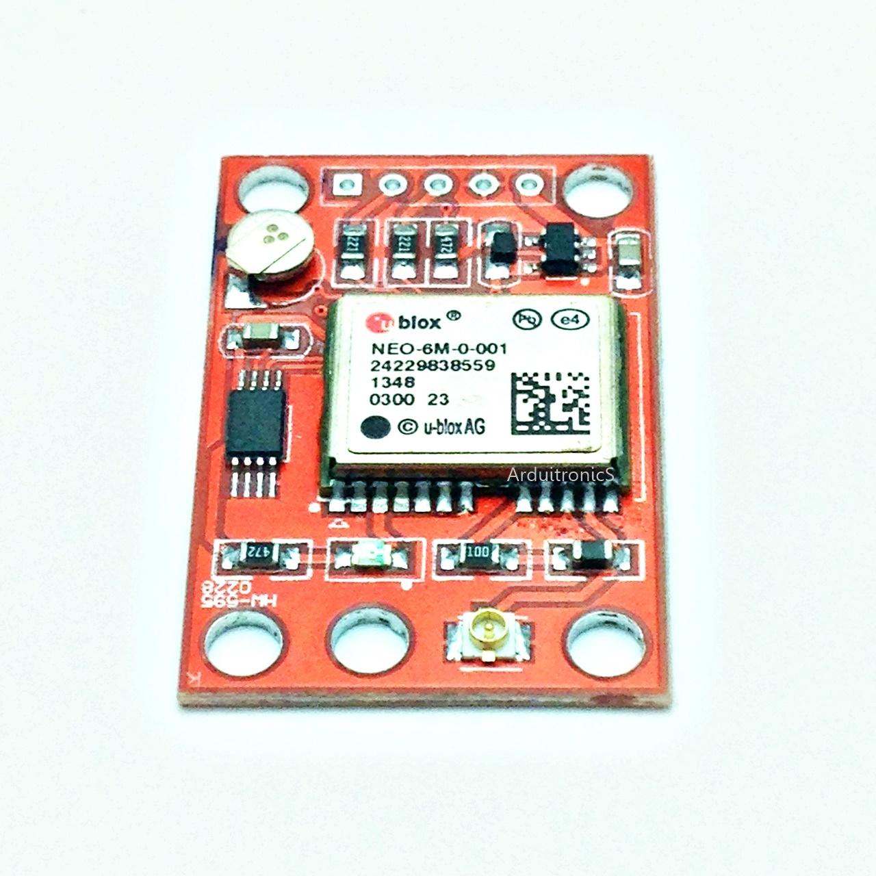 NEO-6M Ublox GPS Module NEO6MV2 พร้อมสายอากาศ