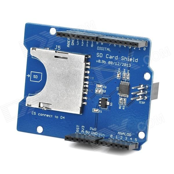 SD / TF Card Shield Expansion Board - Blue (Catalex)