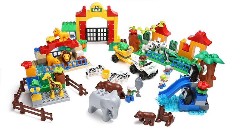 ตัวต่อเลโก้สวนสัตว์ Happy Big Zoo 146 ชิ้น