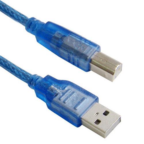 สาย USB Cable ยาว 30cm for Arduino Boards (UNO, Mega, Mega ADK)