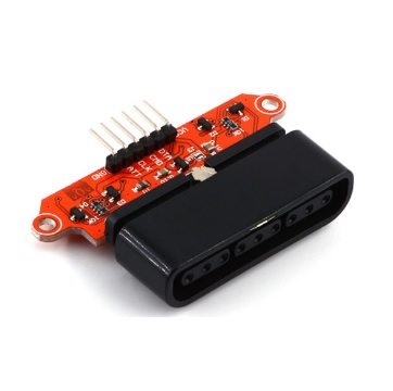 PS2 / PS3 Joystick Adapter to SPI for Arduino (หัวต่อนอนราบขนานกับ PCB) อะแดปเตอร์แปลงหัว PS2 / PS3 เป็นขาต่อแบบ SPI