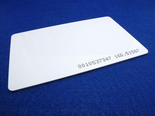Proximity RFID Tag Card 125 kHz (White) Supporting RDM6300