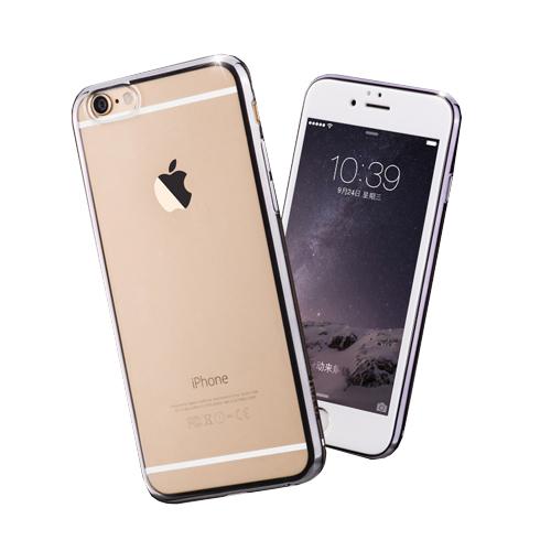 เนื้อพลาสติกนิ่มผลิตจากพลาสติก TPU บาง 0.6 mm พลาสติกที่มีความคงทนยืดหยุ่นสูงสามารถปกป้องเครื่องมือถือไอโฟน