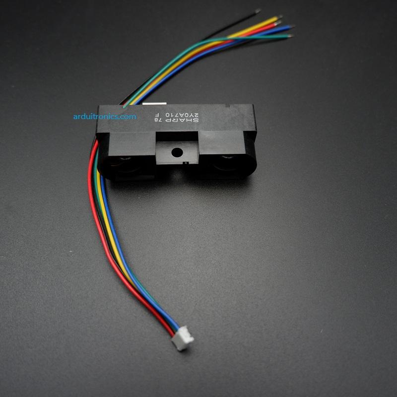 Sharp GP2Y0A710K0F Analog Infrared Distance Sensor (100 - 550cm) + แถมสายต่อ JST