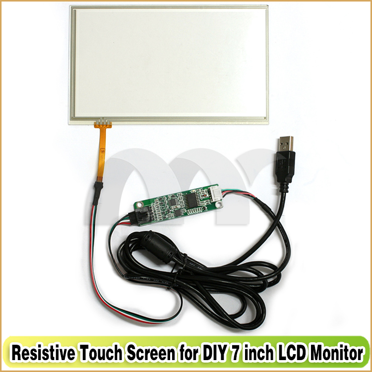 7 Inch TFT LCD Monitor Touch Screen + Driver Board HDMI