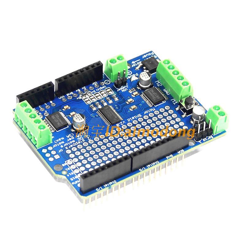 Stepper/Servo Motor Shield (I2C Interface)