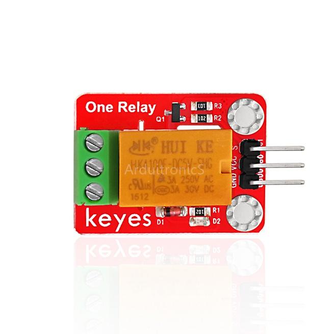 Keyes 5V 1 Channel Relay (red PCB)
