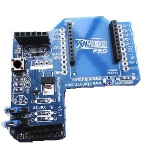 XBee Zigbee wireless module expansion board