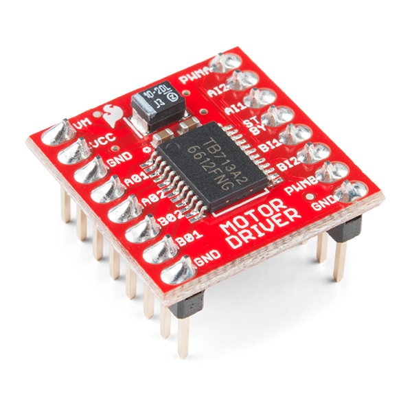 Motor Driver - Dual TB6612FNG (with Headers) - แท้จาก Sparkfun