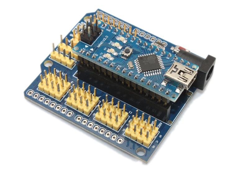 Arduino Nano Multi-sensor Expansion Shield