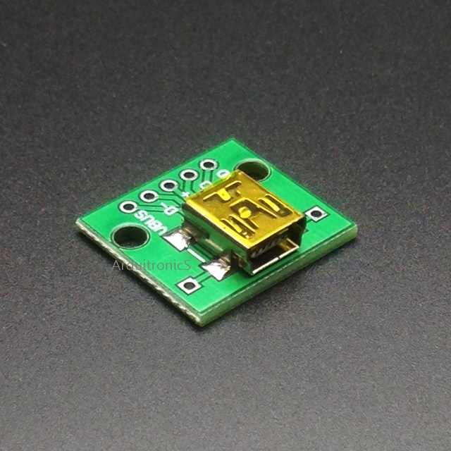 Mini USB to DIP Converter Breakout