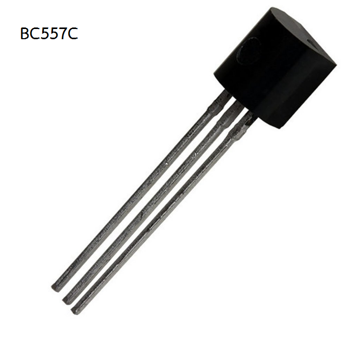 BC557 (PNP Amplifier and Switching Transistor)