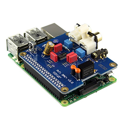Raspberry Pi (3/B+/2B) Dedicated HIFI DAC + Sound Card I2S Interface