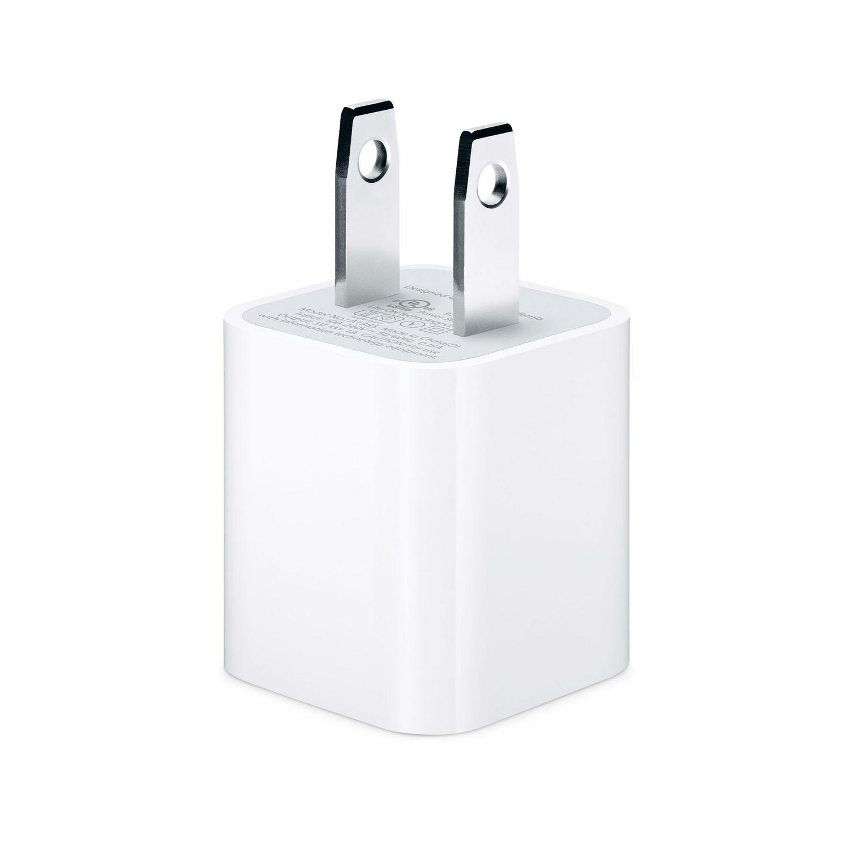 ที่ชาร์จ iPhone สีขาว USB Charger ลดเหลือ 35 บาท ปกติ 150 บาท