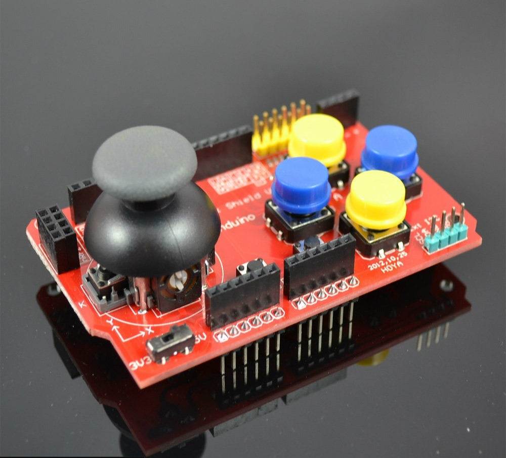 Joystick Shield (ยี่ห้อ Funduino)